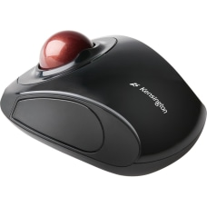 Kensington Orbit Wireless Mobile Trackball GraphiteRuby