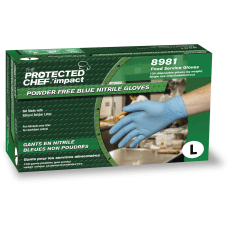 Protected Chef Nitrile General Purpose Gloves