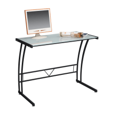 Lumisource Sigma Glass Workstation Black