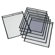 SKILCRAFT Transparent Poly Envelopes 13 x