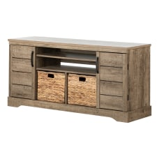 South Shore Fitcher TV Stand For