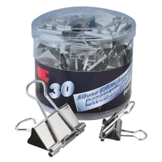 OIC Assorted Binder Clips Assorted Sizes