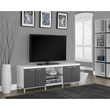 Monarch Specialties Two Tone TV Stand