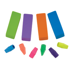 Office Depot Brand Pencil TopBeveled Erasers