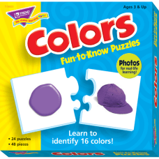 Trend Colors Fun to know Puzzles
