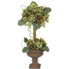 Nearly Natural 24 Silk Artichoke Topiary