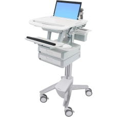 Ergotron StyleView Laptop Cart 2 Drawers
