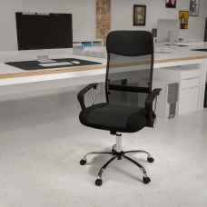 Flash Furniture Bonded Leather and Mesh