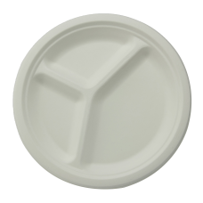 Stalk Market Compostable Round Plates 3