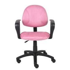 Boss Microfiber Task Chair Pink