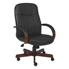 Boss Office Products Bonded LeatherPlus Chair