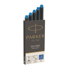 Parker Washable Ink Cartridges Blue Ink