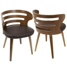 LumiSource Cosi Chair WalnutBrown