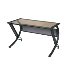 OSP Designs Horizon Steel Workstation Return