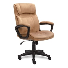 Serta Executive Office Ergonomic Microfiber Mid