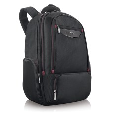 Solo Executive Laptop Backpack BlackRed