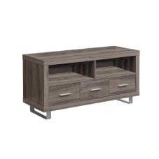 Monarch Specialties Open Shelf TV Stand