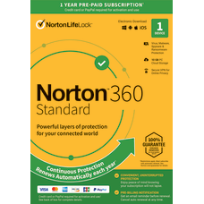 Norton 360 Standard For 1 Device