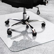 Floortex Glaciermat Glass Chairmat Home Office