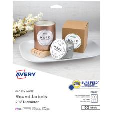 Avery Easy Peel TrueBlock Print To
