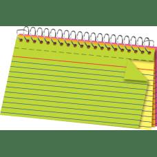 Office Depot Brand Spiral Bound Index
