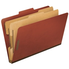 Pendaflex Pressboard Classification Folder 2 Dividers
