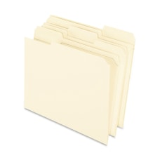 Oxford 13 Cut File Folders Letter