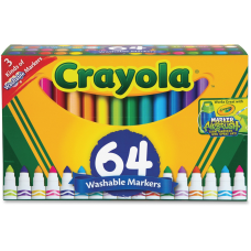 Crayola Washable Markers Conical Marker Point