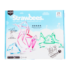 Strawbees 400 Piece Inventor Kits Case
