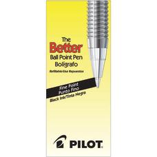 Pilot Better Ballpoint Pens Fine Point