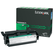 Lexmark T650H84G Remanufactured High Yield Black