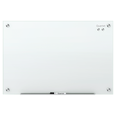 Quartet Infinity Magnetic White Glass Frameless