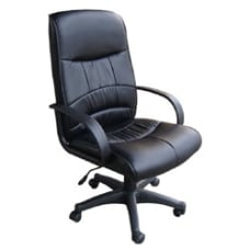 OFM Mid Back Chair Black