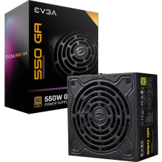 EVGA SuperNOVA 550W Power Supply Internal