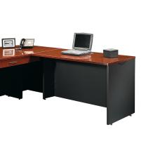 Sauder Via Desk Return Classic CherrySoft