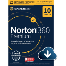 Norton 360 Premium For 10 Devices