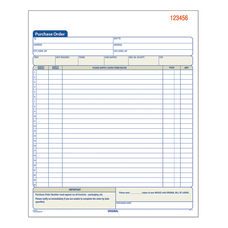 Adams Carbonless Purchase Order Book 8