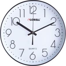 Lorell 12 Quiet Wall Clock Analog