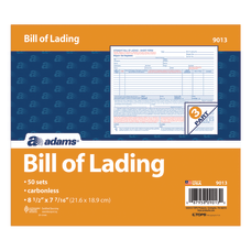 Adams Bill Of Lading Forms 8