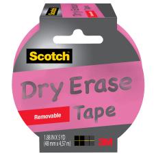 Scotch Dry Erase Tape 3 Core