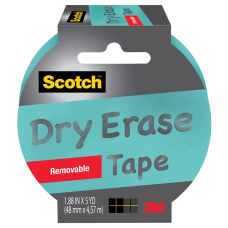 Scotch Dry Erase Tape 3 Core