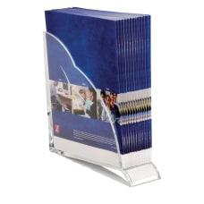 Swingline Stratus Acrylic Magazine Rack Clear