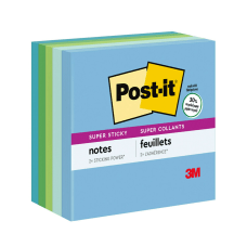 Post it Super Sticky Recycled Notes