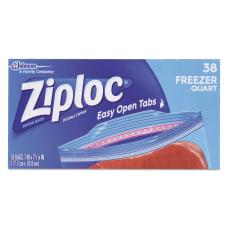 Ziploc Double Zipper Freezer Bags 7