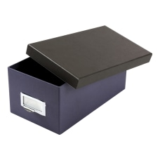 Oxford Index Card Storage Box 4