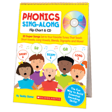 Scholastic Phonics Sing Along Flip Chart