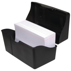 Innovative Storage Designs Plastic Card File