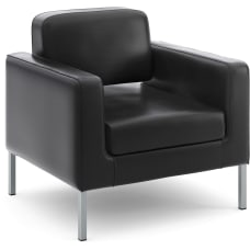 HON Corral Club Bonded Leather Chair