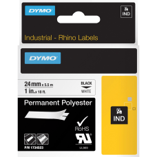 DYMO Rhino Permanent Polyester Tape DYM1734523