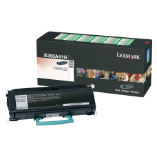 Lexmark E260A41G Black Toner Cartridge
